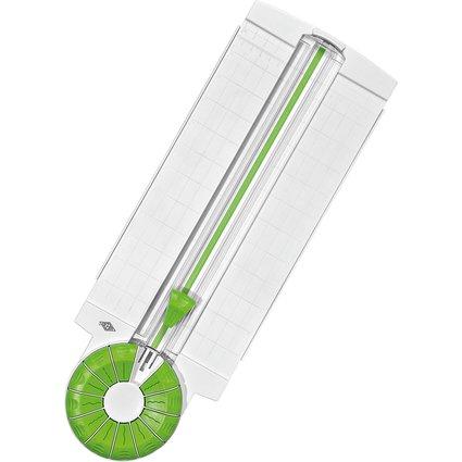 WEDO Rollenschneider 12-in-1 Comfortline, weiß / apfelgrün