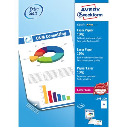 "AVERY Zweckform Kopier-Papier ""Colour Laser"", A4, 150 g/qm"