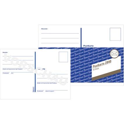 "AVERY Zweckform Formularbuch ""Postkartenheft"", A6 quer"