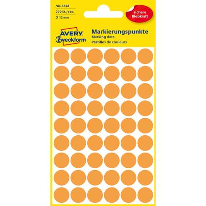 AVERY Zweckform Markierungspunkte, Durchmesser 12 mm