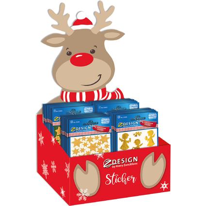 """AVERY Zweckform ZDesign Weihnachts-Sticker """"Bestseller"""""""