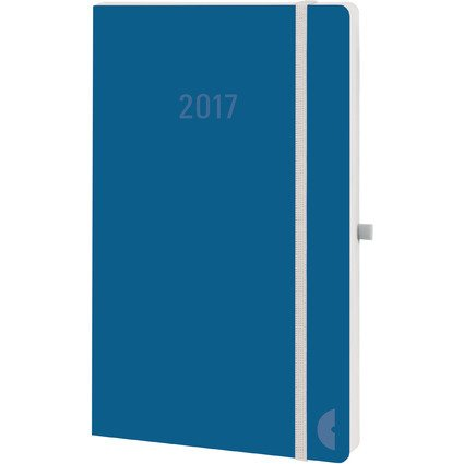 "CHRONOPLAN Chronobook Buchkalender ""Colour Edition"" 2017, A5"