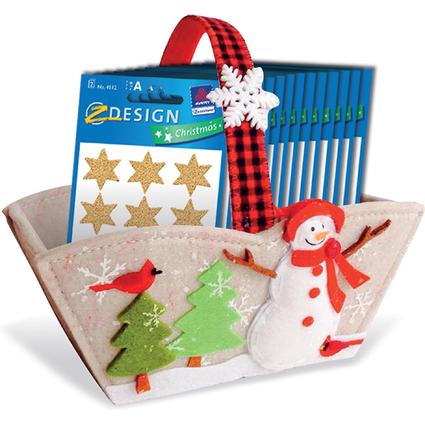 """AVERY Zweckform ZDesign Weihnachts-Sticker """"Sterne"""", Display"""
