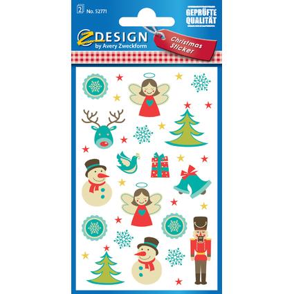"""AVERY Zweckform ZDesign Weihnachts-Sticker """"Weihnachten"""""""