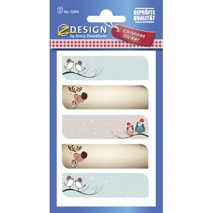 """AVERY Zweckform ZDesign Weihnachts-Sticker """"Motive"""""""