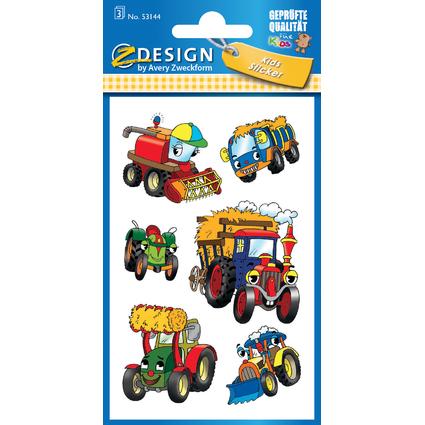 "AVERY Zweckform Z-Design Kids Sticker ""Traktor"""