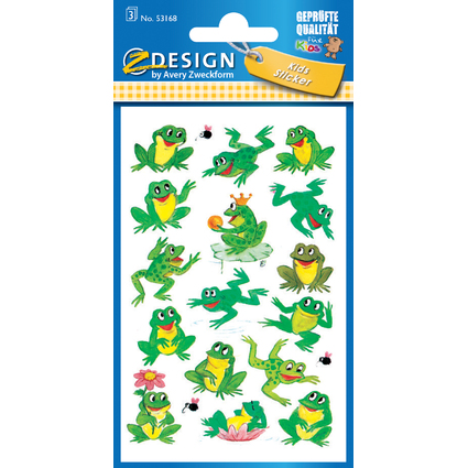 "AVERY Zweckform ZDesign Sticker KIDS ""Frösche"""