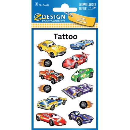 "AVERY Zweckform ZDesign Kids Tattoos ""Autos"""