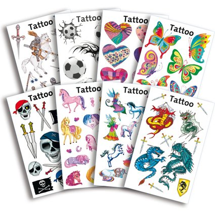 AVERY Zweckform ZDesign KIDS Sortiment Tattoos