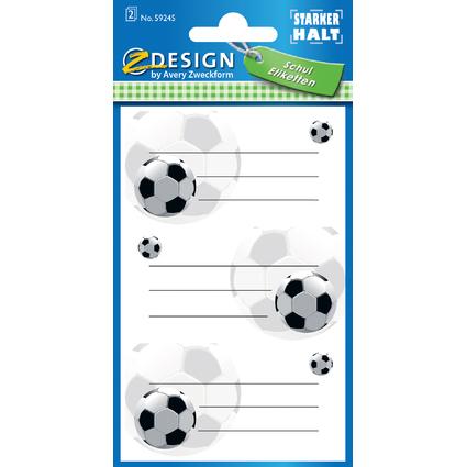 """AVERY Zweckform ZDesign Buchetiketten """"Fußball"""""""