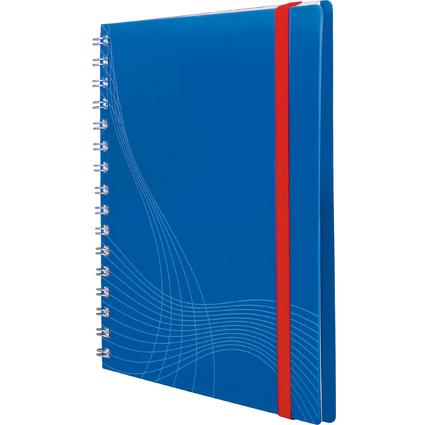 """AVERY Zweckform Notizbuch """"Notizio"""", DIN A5, kariert, blau"""