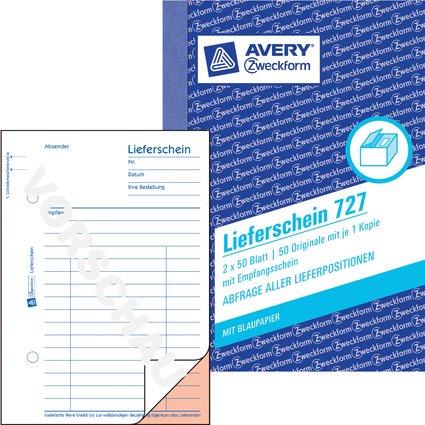 """AVERY Zweckform Formularbuch """"Lieferschein-/Empfangsschein"""""""