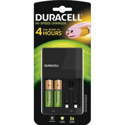 DURACELL Schnell-Ladegerät CEF 14 für AA und AAA Akkus