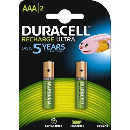 DURACELL Akku PreCharged Micro AAA, 2er Blister