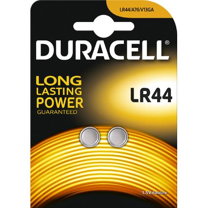 "DURACELL Alkaline Knopfzelle ""Electronics"", LR44, 2er"