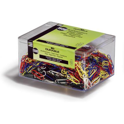 DURABLE Büroklammern, farbig lackiert, 26 mm