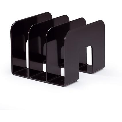 DURABLE Stehsammler TREND, Kunststoff, 3 Fächer, schwarz