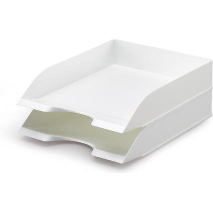 DURABLE Briefablage BASIC, weiß, stapelbar