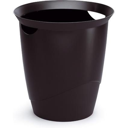 DURABLE Papierkorb TREND, Farbe: schwarz