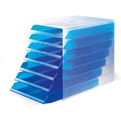 DURABLE Schubladenbox IDEALBOX, mit 7 offenen Schubladen