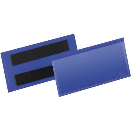 DURABLE Kennzeichnungstasche, magnetisch, 100 x 38 mm, blau