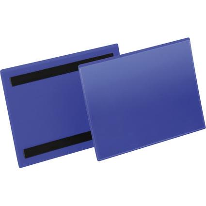 DURABLE Kennzeichnungstasche, magnetisch, DIN A5 quer, blau