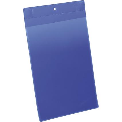 DURABLE Neodym-Magnettasche, DIN A4 hoch, blau