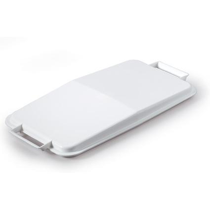 DURABLE Deckel DURABIN LID 60, rechteckig, weiß