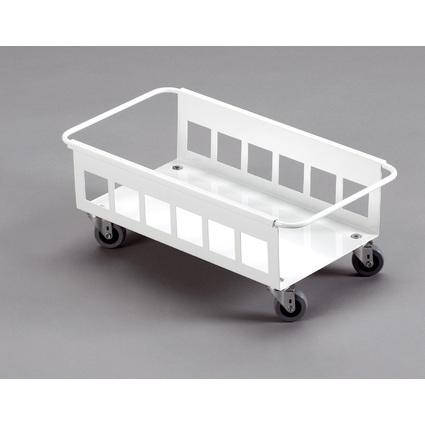DURABLE Fahrwagen DURABIN TROLLEY 60, Farbe: weiß