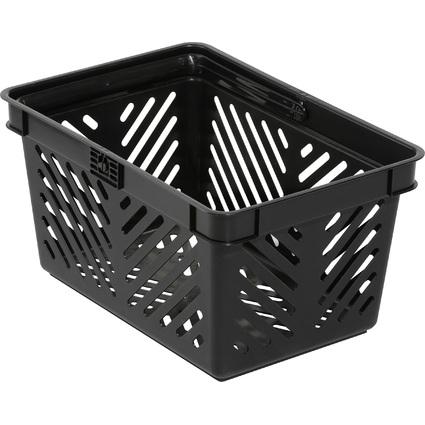DURABLE Einkaufskorb SHOPPING BASKET 27, 27 Liter, schwarz