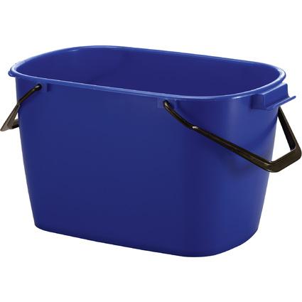 DURABLE Putzeimer BUCKET, 28 Liter, rechteckig, blau