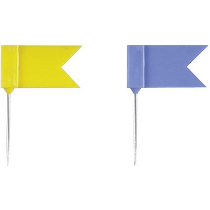 DURABLE Markierungsfähnchen EISBÄR, Länge: 25 mm, sortiert
