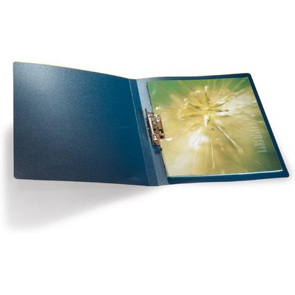 DURABLE Klemmhebel-Mappe, DIN A4, aus PP, blau