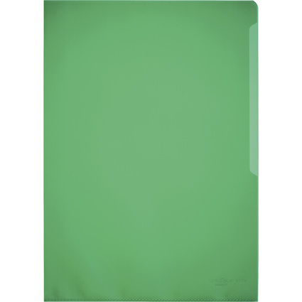 DURABLE STANDARD Sichthülle, DIN A4, PP, 0,12 mm, grün