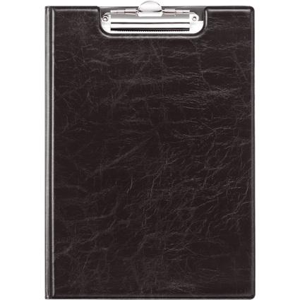 DURABLE Klemmbrett-Mappe, DIN A4, schwarz, aus Weichfolie