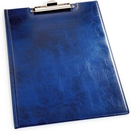 DURABLE Klemmbrett-Mappe, DIN A4, blau, aus Weichfolie