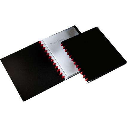DURABLE Sichtbuch DURALOOK Easy, mit 20 Sichthüllen, schwarz
