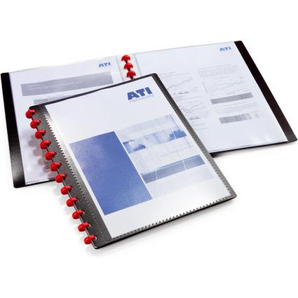 DURABLE Sichtbuch DURALOOK Easy Plus, A4, mit 20 Sichthüllen