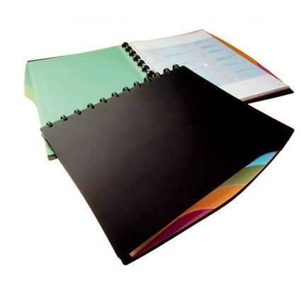 DURABLE Sichtbuch DURALOOK Style, A4, mit 20 Sichthüllen