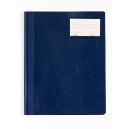 DURABLE Schnellhefter, DIN A4, aus PVC, dunkelblau
