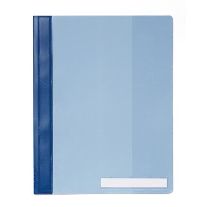 DURABLE Schnellhefter, DIN A4, aus PVC, blau