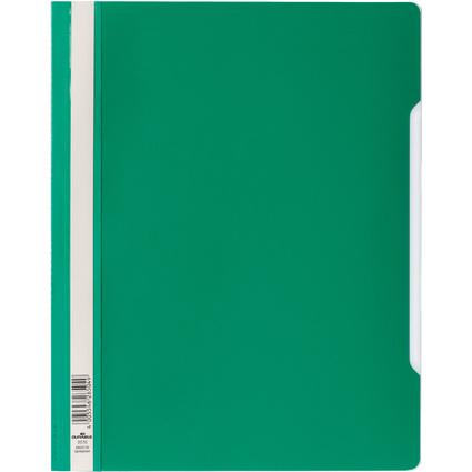 DURABLE Schnellhefter, DIN A4, aus Hartfolie, grün