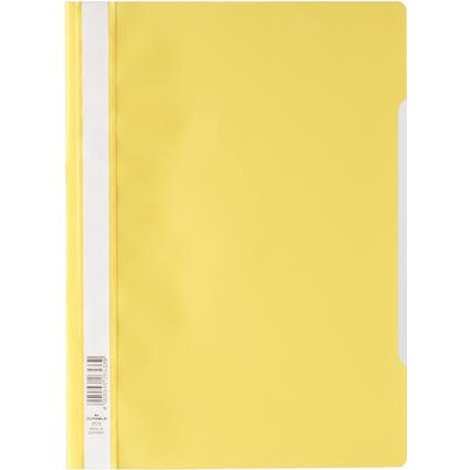 DURABLE Schnellhefter, DIN A4, aus PP-Folie, gelb