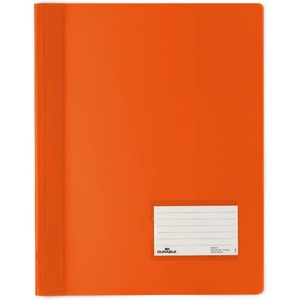 DURABLE Schnellhefter DURALUX, DIN A4, orange