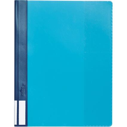 DURABLE Schnellhefter DURALUX, DIN A4, blau, überbreit