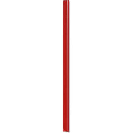DURABLE Klemmschiene, DIN A4, Füllhöhe: 6 mm, rot