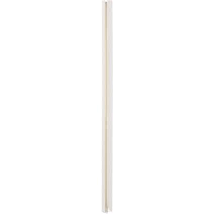 DURABLE Klemmschiene, DIN A4, Füllhöhe: 10-12 mm, weiß
