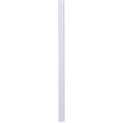 DURABLE Klemmschiene, DIN A4, Füllhöhe: 10-12mm, transparent