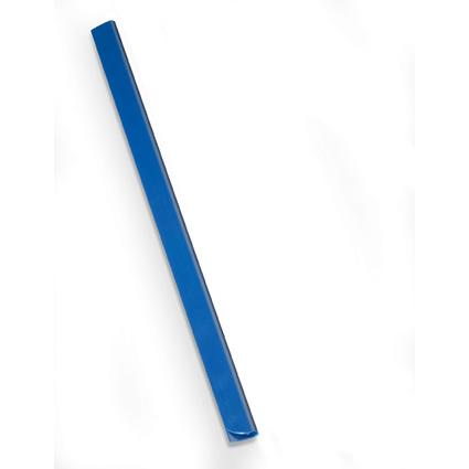 DURABLE Klemmschiene, DIN A4, Füllhöhe: 3 mm, dunkelblau
