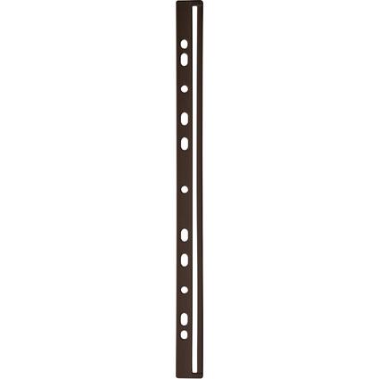 DURABLE Ordnungsschiene, DIN A4, schwarz, aus Kunststoff